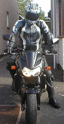 Me on my new Z750